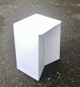 "kit tabouret ""one"" blanc"