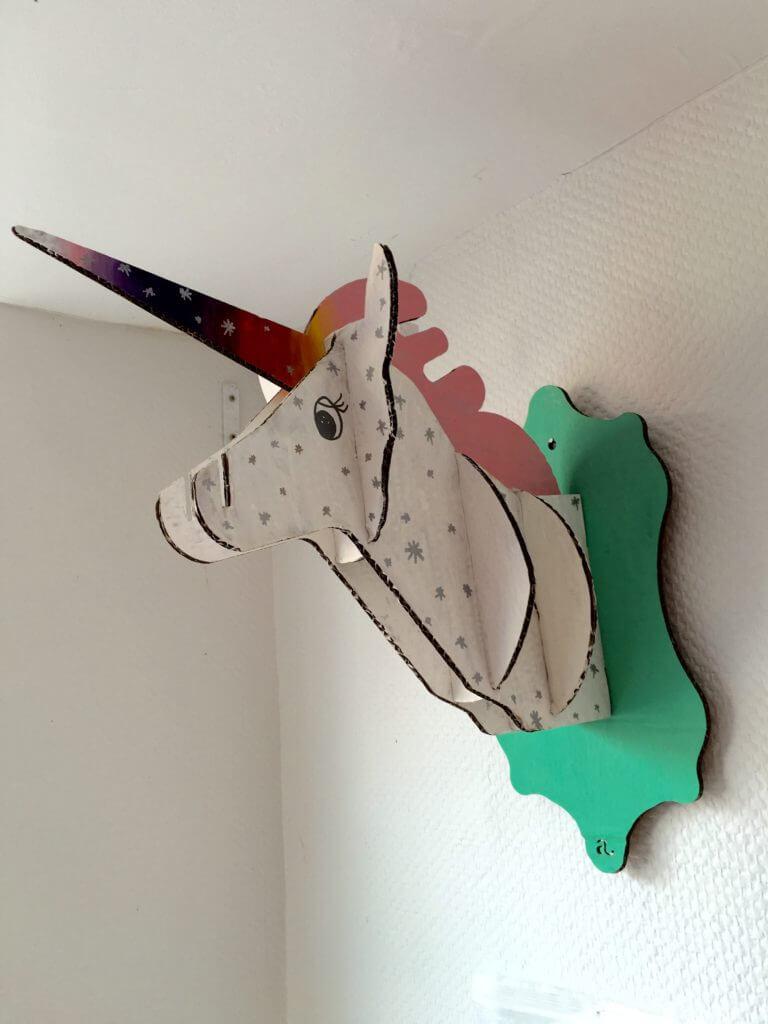 licorne décorer à garder